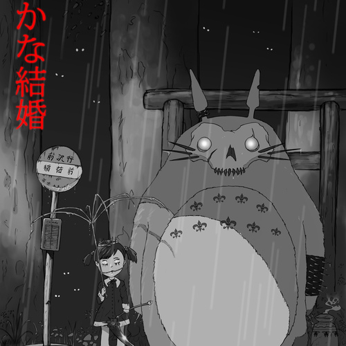 My Gothic Totoro by banecrafts