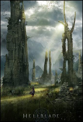 Display jumbo hellblade ruins of the ancients