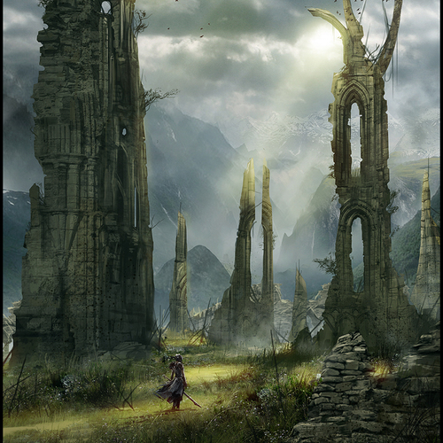 Hellblade Ruins Of The Ancients by mark_molnar