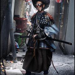 afro samurai by mark_molnar