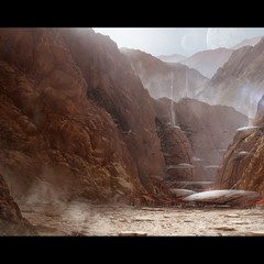 starwars rebel base by mark_molnar