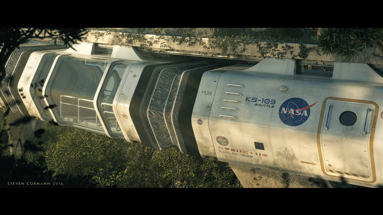 nasa monorail by stevencormann