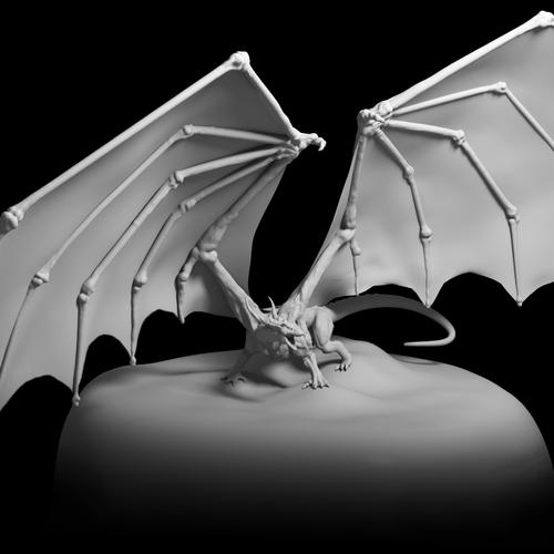 Dragon Wip by joshpurple