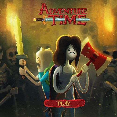 Adventure Time Play Screen by fedeginabreda