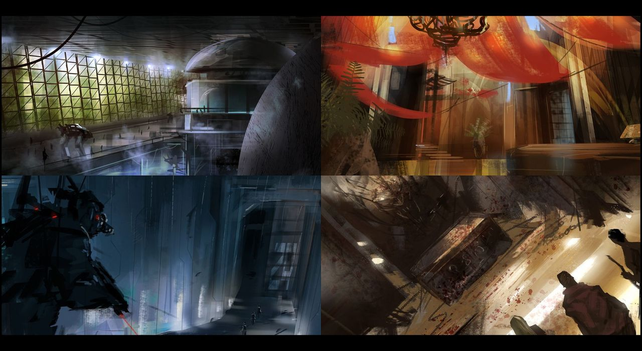 composition sketches 10 by mark_molnar