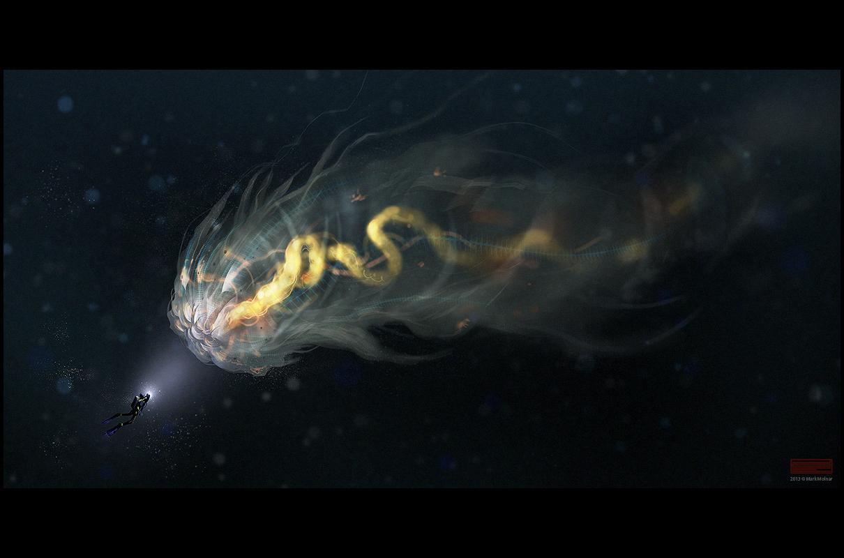 transparent creature by mark_molnar