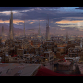 arrakeen at night by mark_molnar