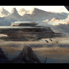 dune harkonnen battleship