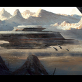 dune harkonnen battleship by mark_molnar