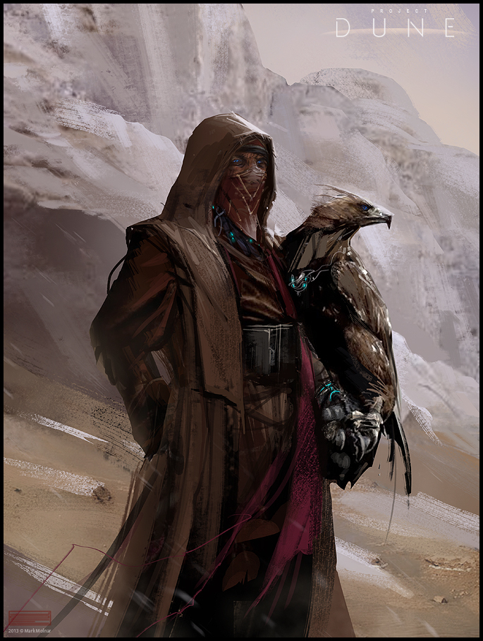 dune fremen eagle hunter by mark_molnar