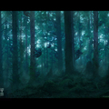 dawn of the planet of the apes forest by mark_molnar