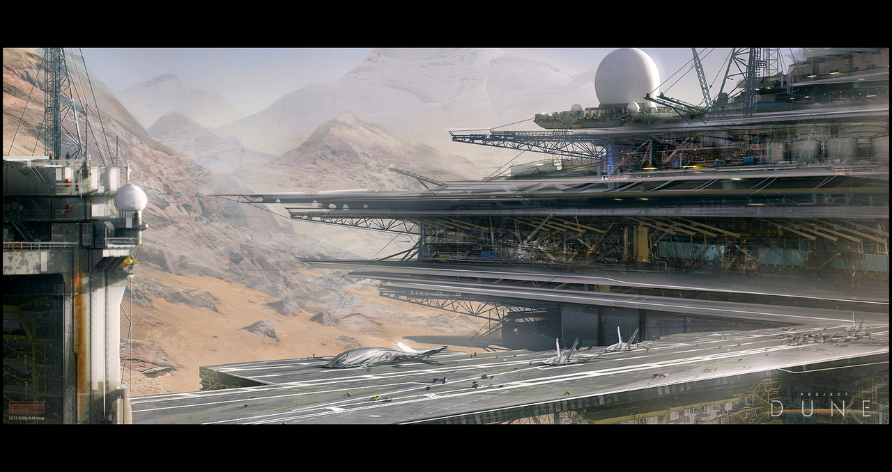 dune spice refinery by mark_molnar