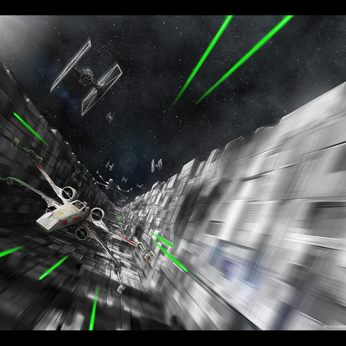 Star Wars Trench Run by mark_molnar