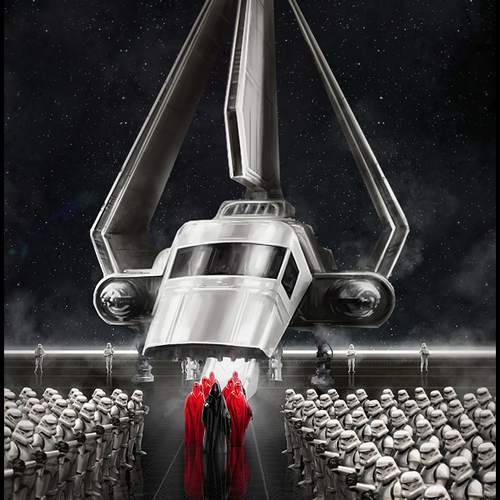 Star Wars The Emperors Arrival by mark_molnar