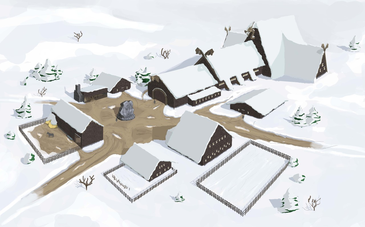 viking town by mopey