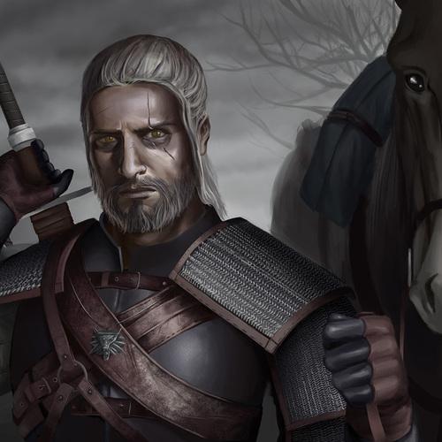Geralt by durandal