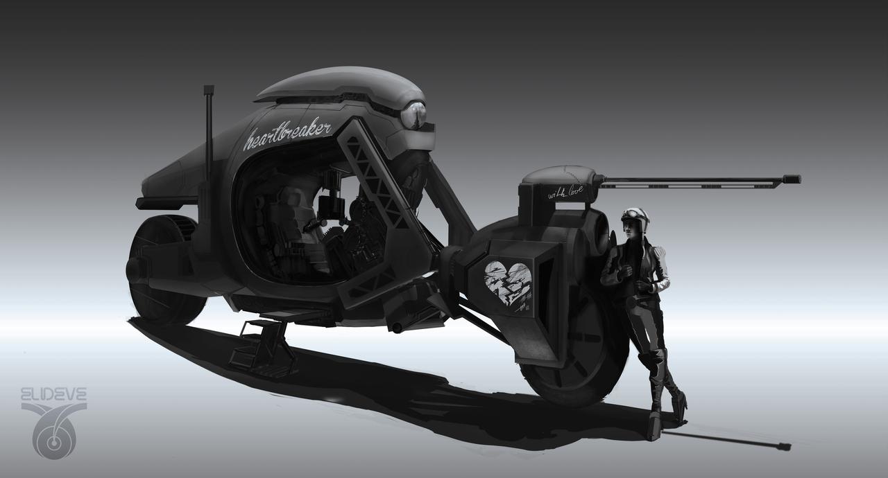 heartbreaker bike by latzkovits