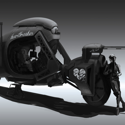 Heartbreaker Bike by latzkovits