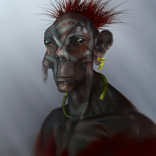 Indigenous Alien by latzkovits