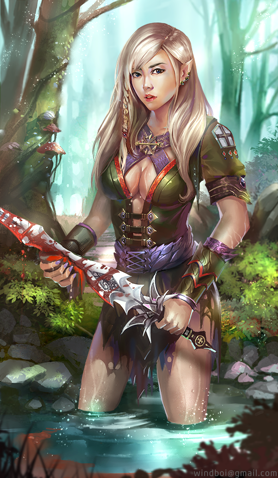 elf warrior by windboi