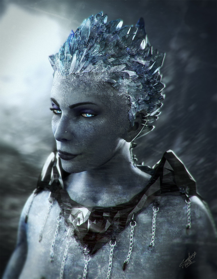 ice queen by santiago_betancur