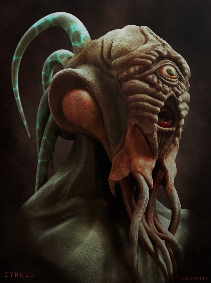cthulhu by simulacrum
