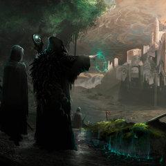 the dark druids by tiagosilverio