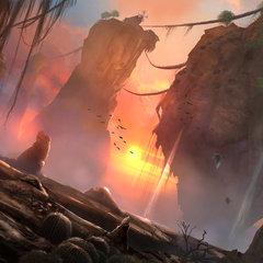 flying giant stones by tiagosilverio
