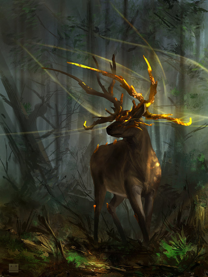 elara deer guardian by sickbrush