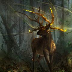 elara deer guardian by sickbrush