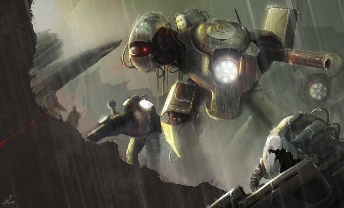 war machine by tiagosilverio