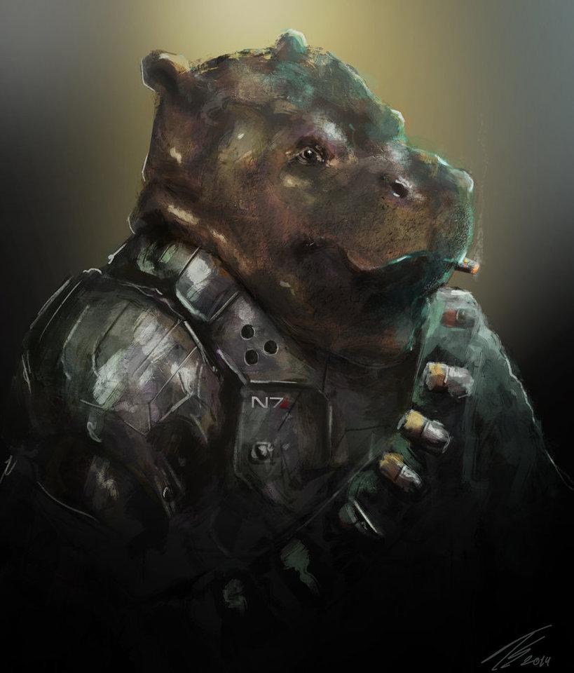 elite hippo by tiagosilverio