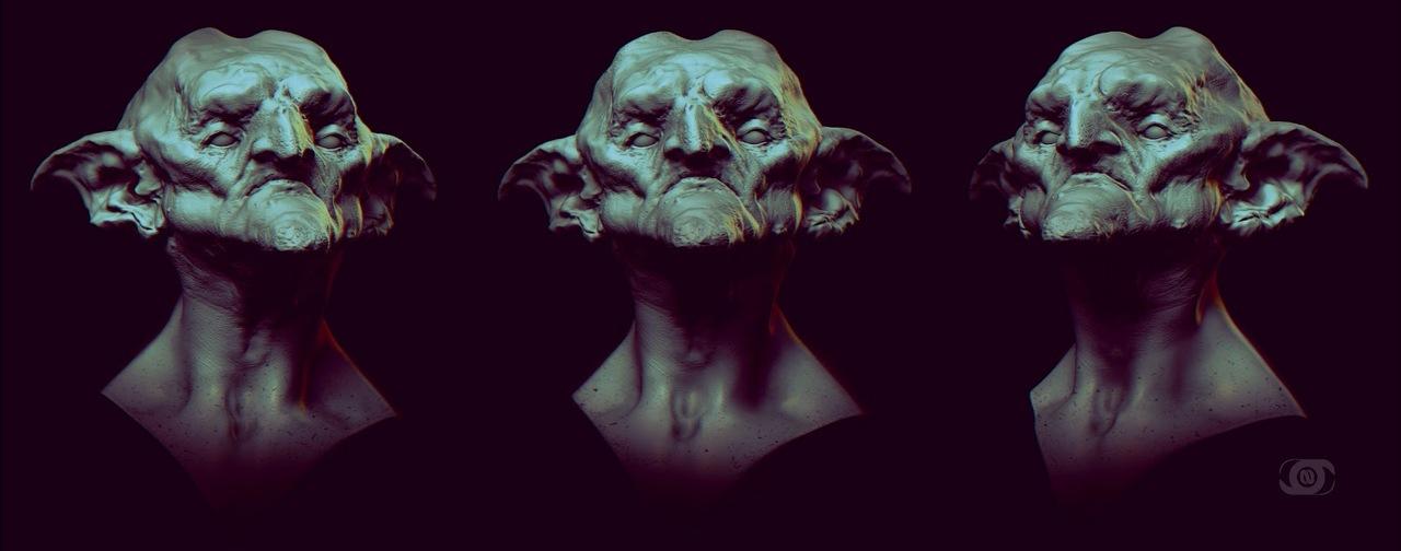 goblin sketch by nikizar