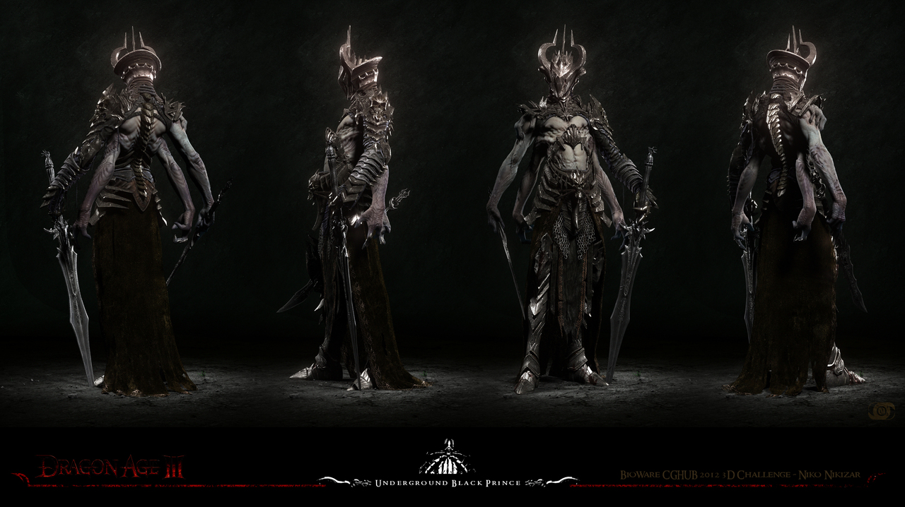 underground black prince turn by nikizar