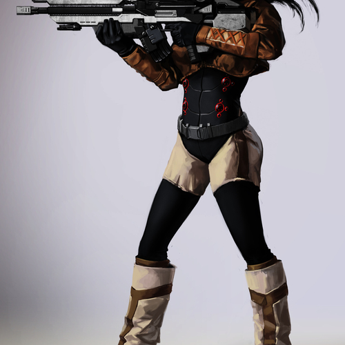 Sniper by mam