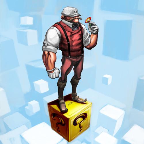 Super Steampunk Mario by mam