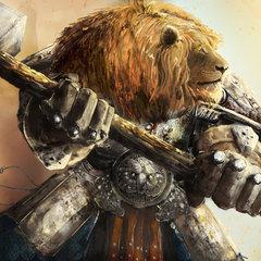 leonine warrior by tiagosilverio