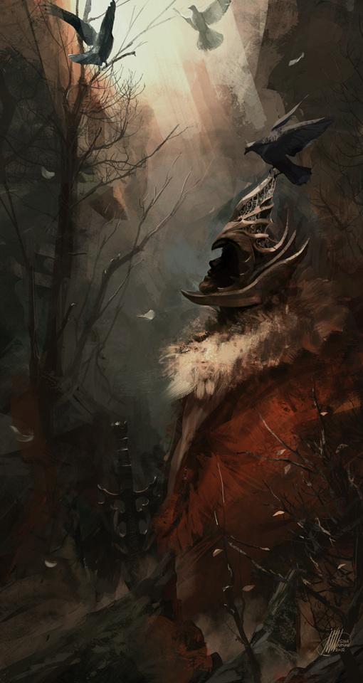 forgotten king by sinakasra