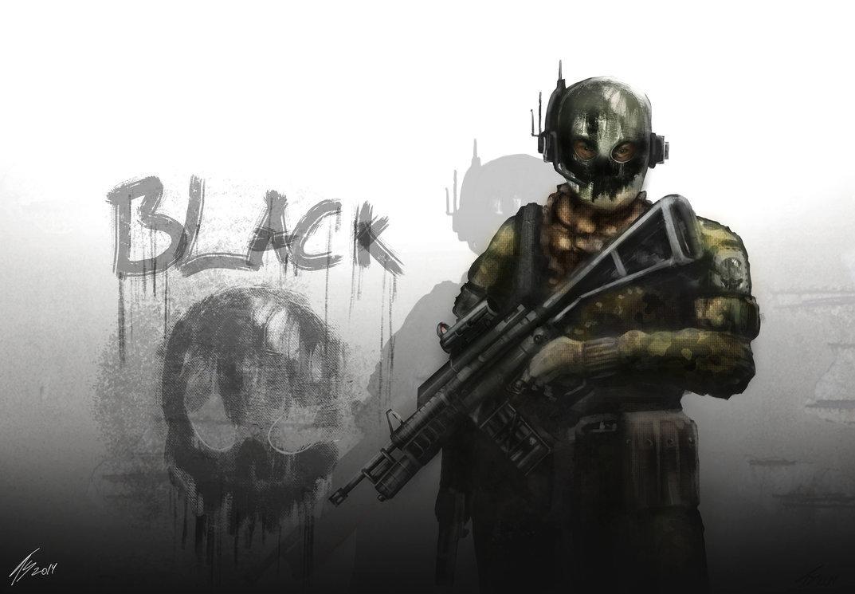 black skull elite by tiagosilverio