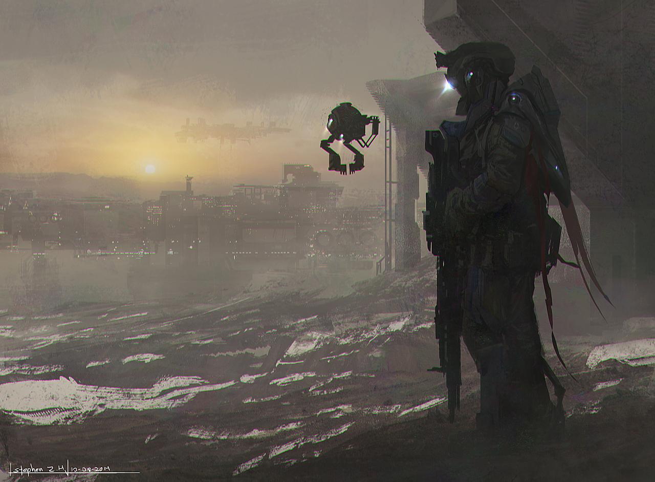 future sniper by stephenzavala