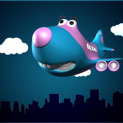 Thumb jumbo airplanef