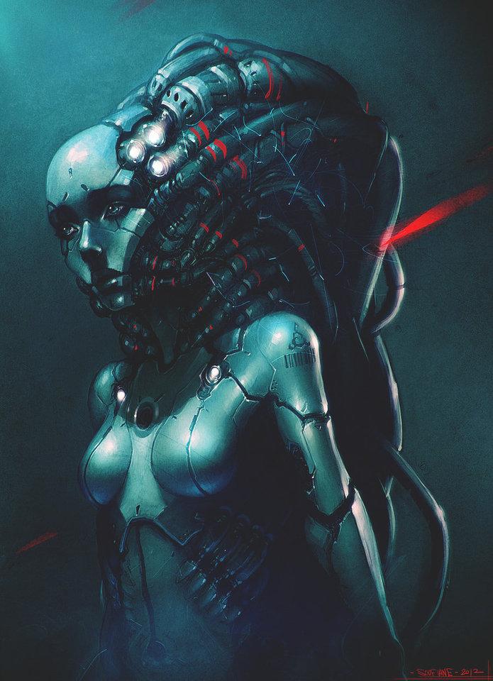 bionic girl by cgsoufiane