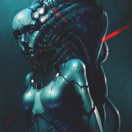 Bionic Girl by cgsoufiane