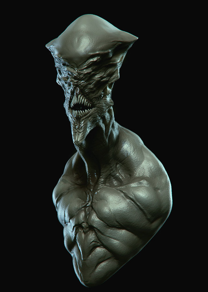 alien by cgsoufiane