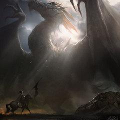 mystic dragon by darekzabrocki