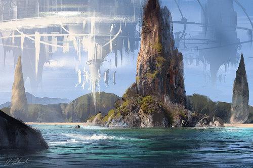 Display jumbo island