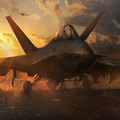 sunrise fighter by darekzabrocki